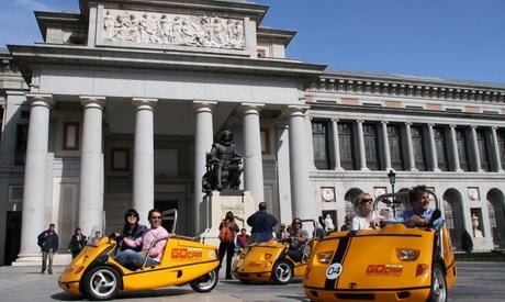2 horas de Scrooser para una persona o de GoCar para dos personas desde 19,95 € con Go Car Tours Madrid