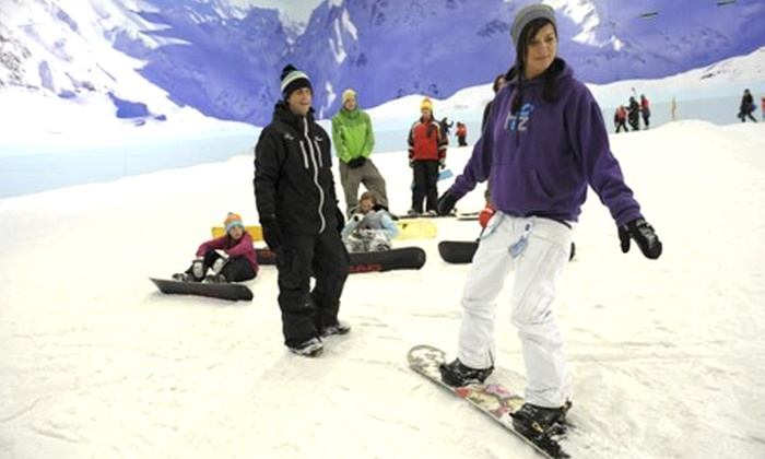 Chillfactore - Chill Factore: Skiing or Snowboarding Lessons For One (£13.50) or Two (£24) at Chill Factore (Up to 60% Off)