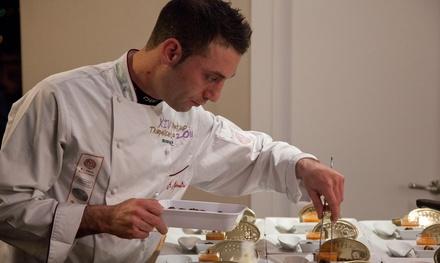 Showcooking y degustación de 24 platos del chef Alberto Mastromatteo por 69,95 € en Summumm Gastroespacio