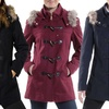 Alpine Swiss Duffy Women's Faux Fur Trim Hooded Parka