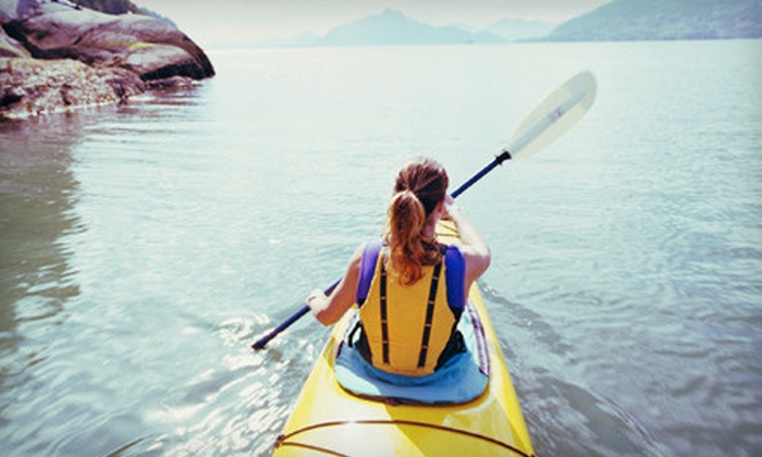 Creekside Kayaks - Mt. Pleasant: Two-Hour Single or Tandem Kayak Rental, or Three-Hour Introductory Kayaking Class from Creekside Kayaks (Up to 52% Off)