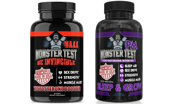 Up To 56 Off On Angry Supplements Monster Test Groupon