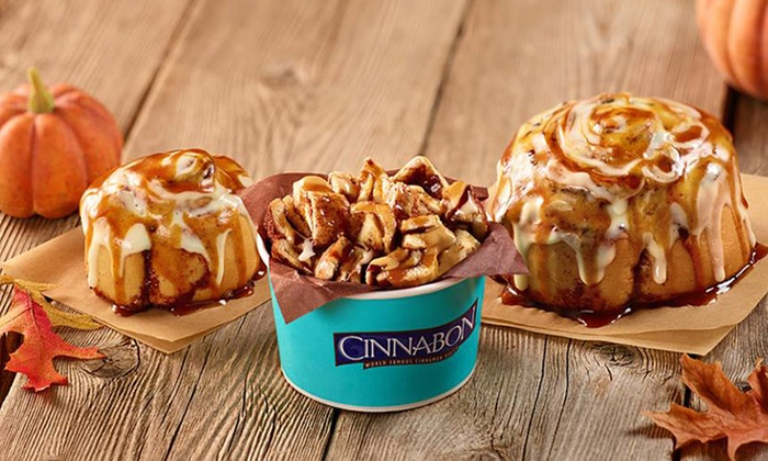 Cinnabon  - Multiple Locations: $12 or $24 Worth of Cinnamon Rolls at Trumball or Darien Locations of Cinnabon (Up to 42% Off)