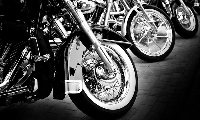 LA Calendar Motorcycle Show - Sagebrush Cantina: LA Calendar Motorcycle Show for Two or Four on Saturday, July 23, at 11 a.m. (Up to 50% Off)