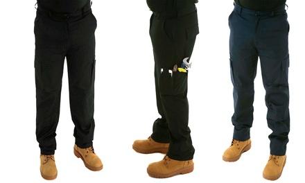 Lightweight Cargo Work Trousers