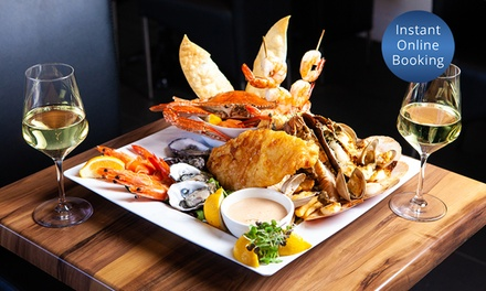 $79 for Seafood Platter for Two People, $89 to Add Wine at Yellowfin Restaurant - Southbank (Up to $144.90 Value)