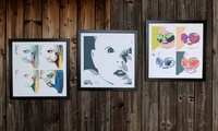 Personalized Framed Pop Art on Canvas