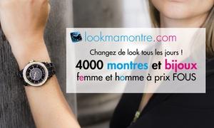 Lookmamontre.com: Pour Noël, montres, bijoux, ... 50% de réduction sur l'ensemble du site Lookmamontre pour 1 € seulement