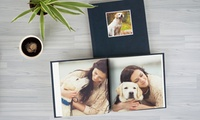 Leather Cover Debossed Customized Photobook from AED 49 (Up to 73% Off)