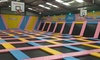 Tramp 2 Lean Sheffield - Sheffield: One-Hour Bouncing Session for Adult with Toddler or for Up to Four at Tramp 2 Lean Sheffield