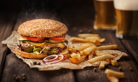 Burger with Salad and Chips for Two or Four at Aberdeen Steak House