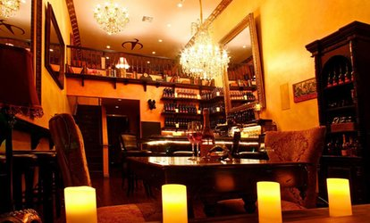 <strong>Wine-<strong>Tasting</strong></strong> for Two or Four with $10 Credit Towards Bottles at Vampire Lounge & <strong>Tasting</strong> Room (Up to 57% Off)