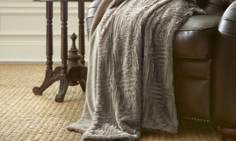 Carved Faux Fur Throw Blankets 20bccaed-6f14-44bb-a110-e373939596ed