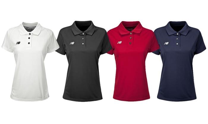 New Balance Women's Tech Polo Shirt (2-Pack)