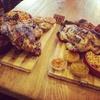 Menu poulet avec accompagnements et boissons