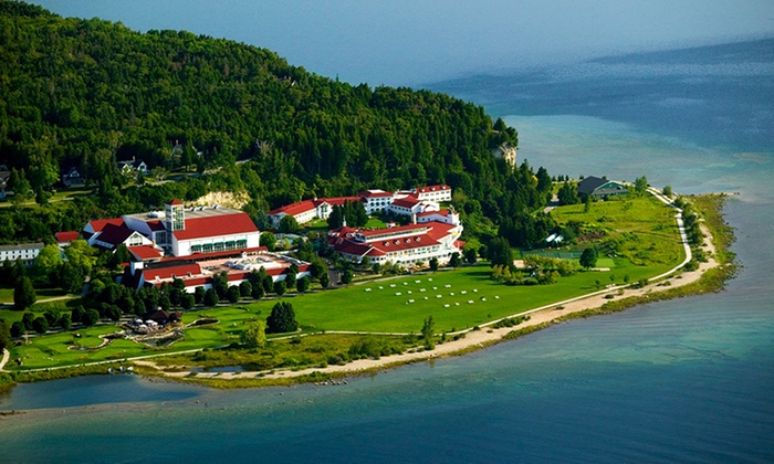 Waterfront Resort on Mackinac Island