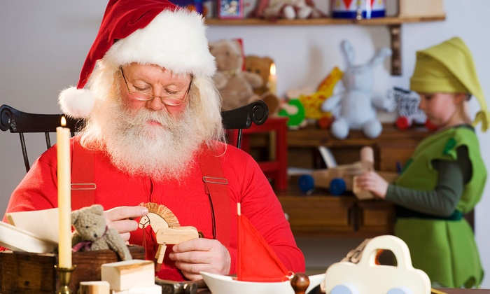 Elf Training University - Santa's Toy Boat Workshop A.K.A. Canoe the Caney: Visit to Santa's Workshop with Crafts and Photos for One, Two, or Four at Elf Training University (Up to 48% Off)