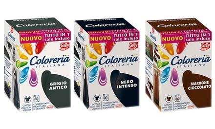 Colore per tessuti della Coloreria Italiana disponibile in 5 tonalità