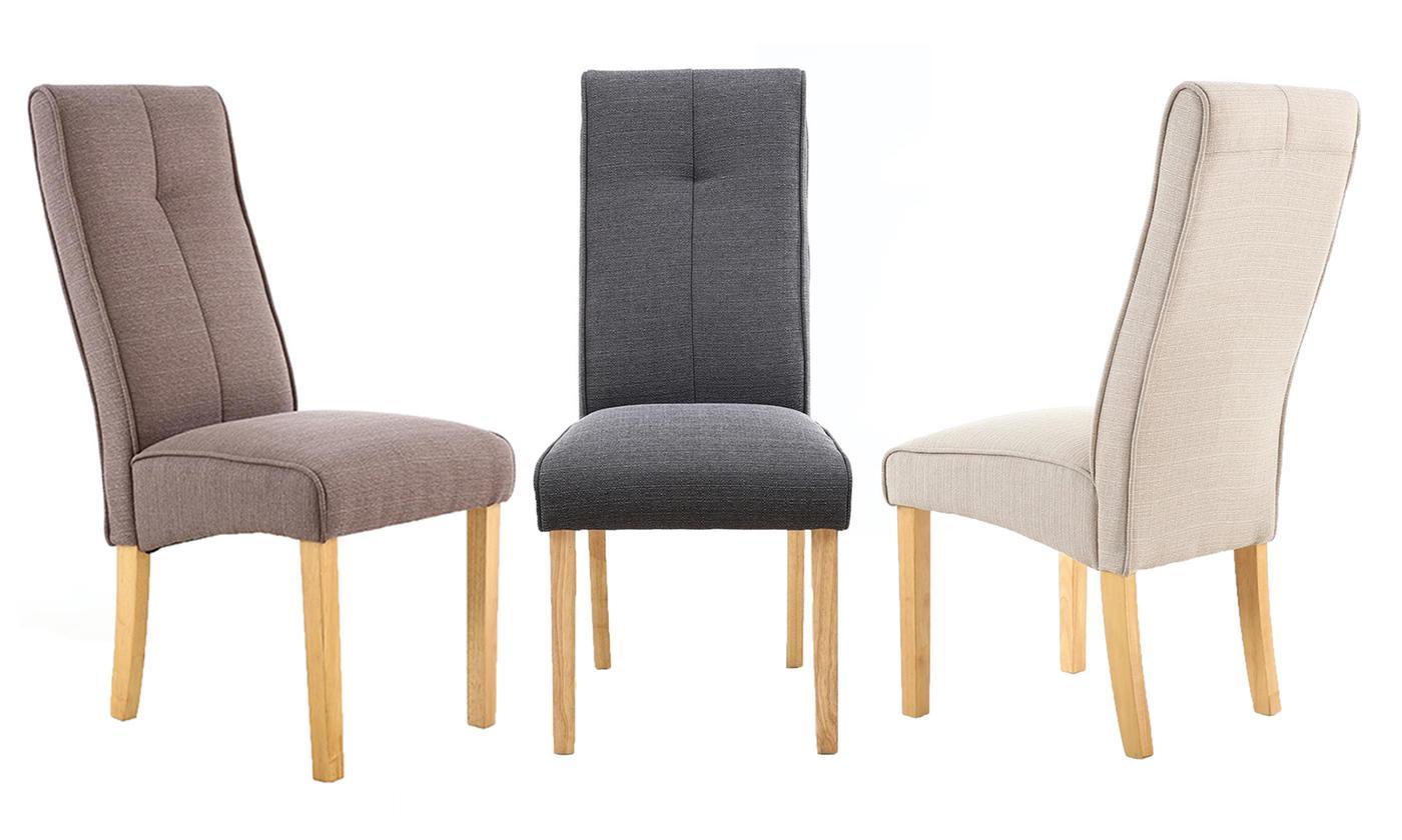 salta fabric dining chairs
