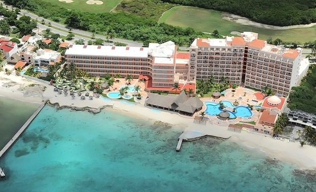 TripAlertz wants you to check out ✈ 6- or 7-Night All-Inclusive El Cozumeleno Resort Stay w/Airfare. Price/Person Based on Double Occupancy.  ✈ All-Incl. El Cozumeleno Resort Stay w/ Air from Vacation Express  - All-Inclusive Cozumel Vacation