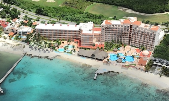 3 4 6 or 7Night AllInclusive El Cozumeleno Beach Resort Stay
