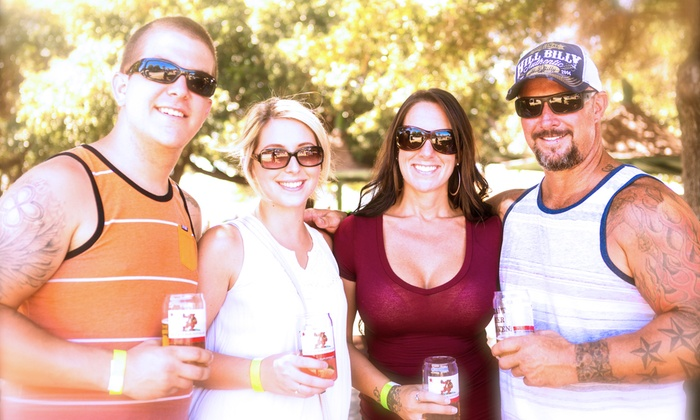 California Beer Festival's BBQ & Beer Festival - Central Park: $20 for the California Beer Festival's BBQ & Beer Festival for Two with Beers on May 7 ($40 Value)