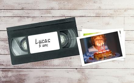 Pass donnant 50% de remise sur la numérisation de cassettes vidéos, bobines 8mm/Super8 ou diapositives à 9 € avec Tedeo