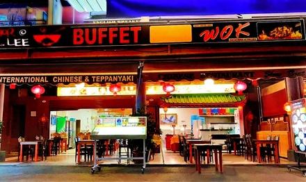 Buffet libre asiático para 2 o 4 personas en Slow Boat 2