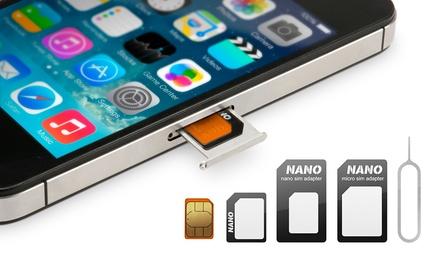 1 o 2 adaptadores Nano Sim 4 en 1 desde 1,95 € (hasta 83% de descuento)