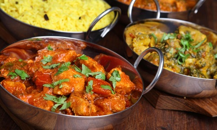 Indian Cuisine or Brunch at Himalayas Indian Restaurant (Up to 48% Off). Groupon Reservation Required.