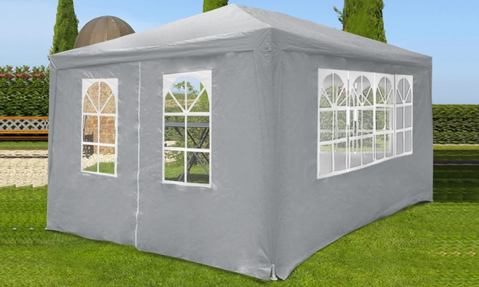 tente pavillon marquee 3 x 4 m groupon. Black Bedroom Furniture Sets. Home Design Ideas