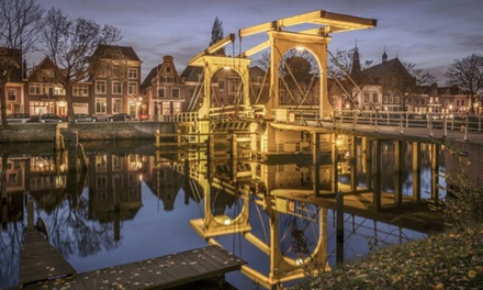 Nabij Amsterdam: Cosy tweepersoonskamer met ontbijt voor twee bij Het Hart van Weesp