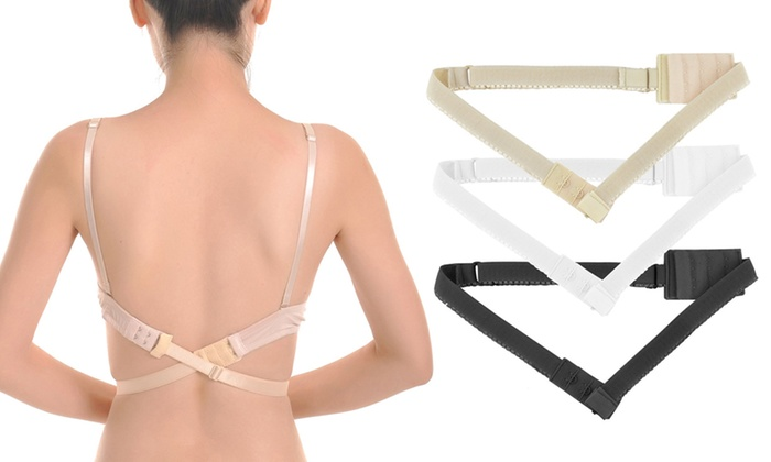 Pack of Three, Six or Nine Low Back Bra Converters from £3.98