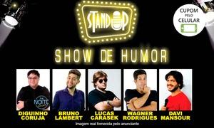 Lambert Produções: Show de Humor - Stand-up Comedy - Teatro Ruth Escobar: 1 ingresso