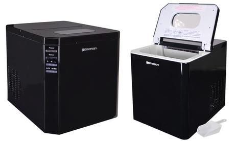 Emerson IM93B Portable Countertop Ice Maker Refrigerator with Ice Scoop (Manufacturer Refurbished) 5879f038-4c7a-11e7-832b-00259060b5da