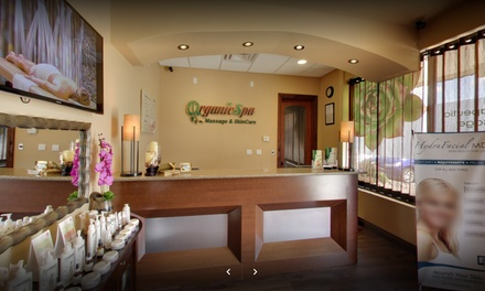 Spa Day Package for One or Two at Organic Spa Massage and Skin Care (Up to 26% Off)