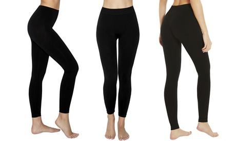 1 o 2 leggings de cintura alta con efecto adelgazante anticelulítico