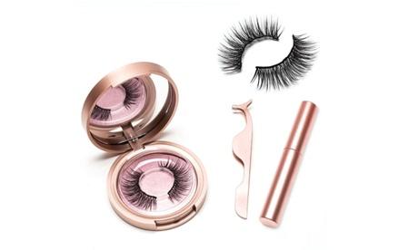 Set de delineador magnético para ojos, pestañas y pinzas Glamza