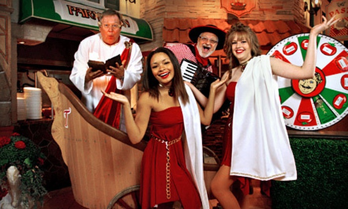 Frankie Tomatto's - Markham: $7 for a Comedy or Game Show at Frankie Tomatto's ($15 Value)