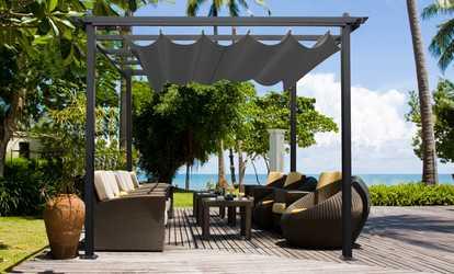 Ensembles de meubles pour terrasses et jardins deals et coupons groupon for Meubles pour jardins et terrasses