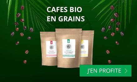 Bon d'achat de 25 € valable pour le café en grain sur le site Monexpresso à 10 €