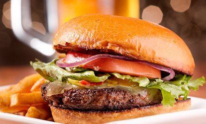 image for Gourmet Burger and Drink for Two at The Peppercorn Bistro (Up to 44% Off)