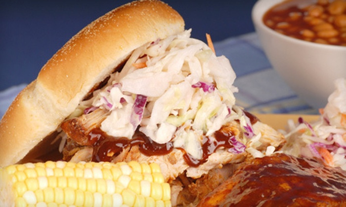 Wagon Bones Grill - West Suburb: Tailgating or Party Package for 10, 20, or 40 at Wagon Bones Grill (Up to 57% Off)