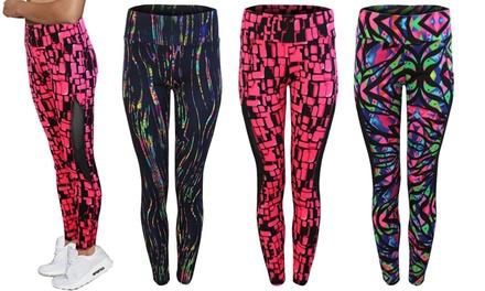 Printed Activewear Leggings