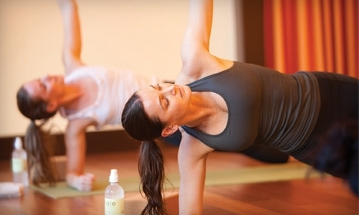 exhale - Multiple Locations: 3 or 10 Core Fusion or Yoga Classes at exhale (Up to 60% Off)