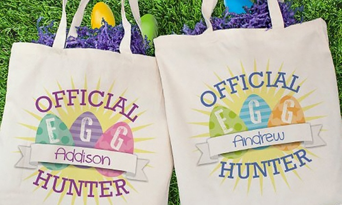 GiftsForYouNow.com: Custom Easter Canvas Tote Bag from Gifts For You Now