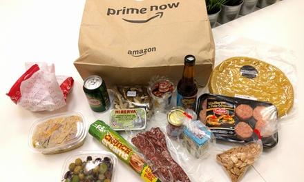 Bono de 25 € para tu próxima compra en Amazon Prime Now La Plaza de Dia