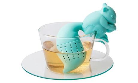 1, 2 o 3 infusores de té en forma de ardilla