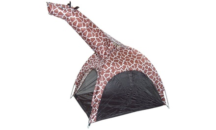 Giraffe or Zebra PopUp Play Tent