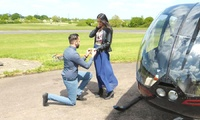 Helicopter Experience with Non-Alcoholic Bubbly and Chocolates for Two with Flying Pig Helicopters (35% Off)